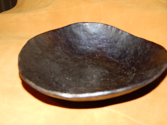 Forged steel bowl