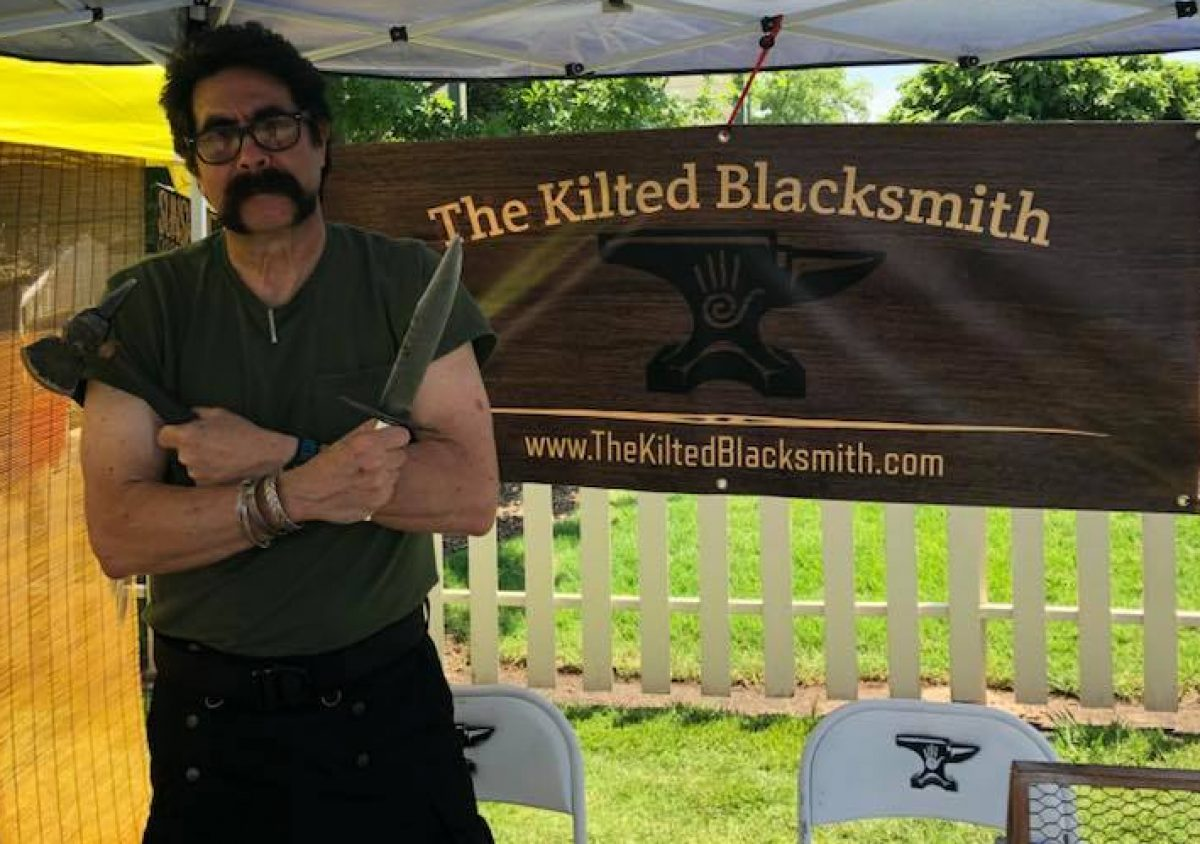 The Kilted Blacksmith